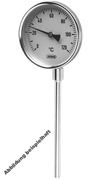 JUMO dial thermometers for industrial use